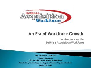 An Era of Workforce Growth