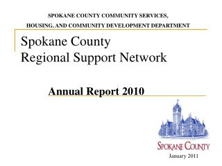 Spokane County Regional Support Network