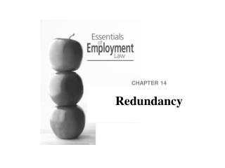 CHAPTER 14 Redundancy