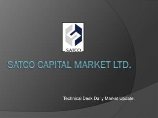 SATCO CAPITAL MARKET LTD.