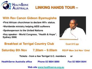 LINKING HANDS TOUR –