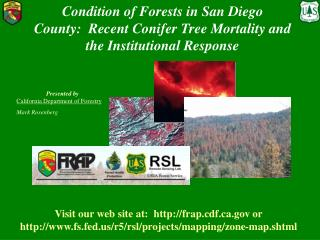 Presented by California Department of Forestry Mark Rosenberg