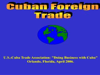 Cuban Foreign Trade