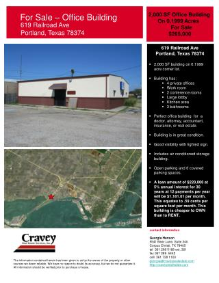 For Sale – Office Building