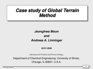 Case study of Global Terrain Method