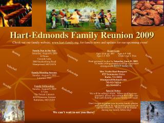 Hart-Edmonds Family Reunion 2009