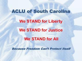 ACLU of South Carolina