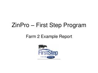 ZinPro   First Step Program