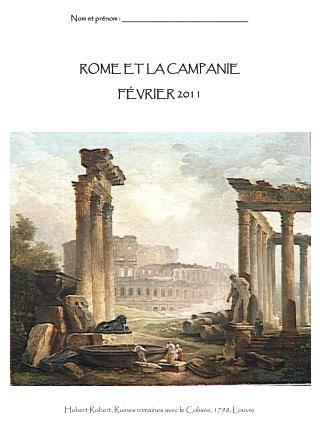 ROME ET LA CAMPANIE F É VRIER 2011