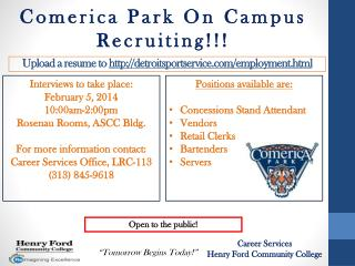 Upload a resume to  detroitsportservice/employment.html