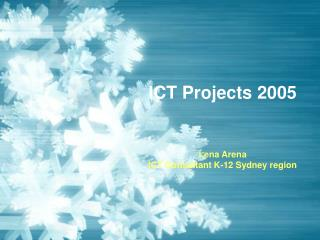 ICT Projects 2005