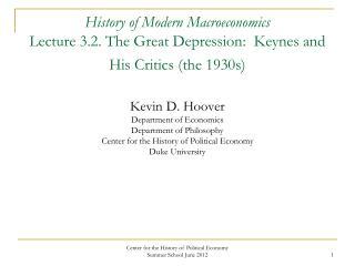 John Maynard Keynes (1883-1946)