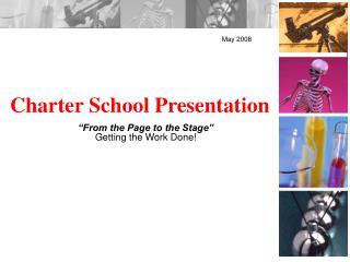 Charter School Presentation