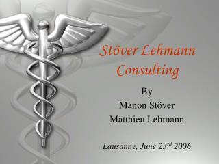 Stöver Lehmann Consulting