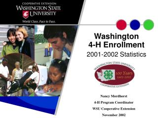 Washington 4-H Enrollment