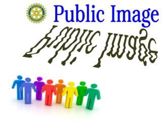 Each of us has a public image