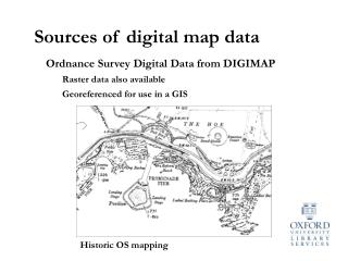 Sources of digital map data