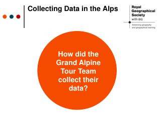 Collecting Data in the Alps