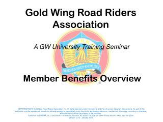 Member Benefits Overview