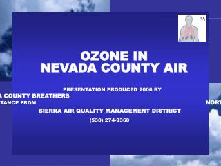 OZONE IN  NEVADA COUNTY AIR
