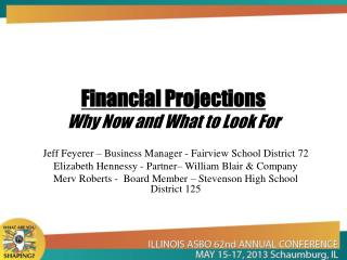 Financial Projections Why Now and What to Look For