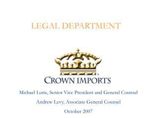 LEGAL DEPARTMENT