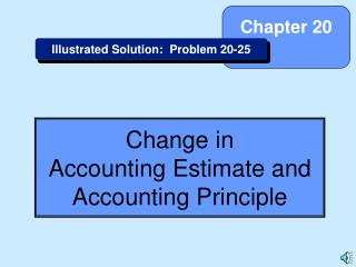 Change in Accounting Estimate and Accounting Principle