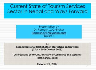 Current State of Tourism Services Sector in Nepal and Ways Forward