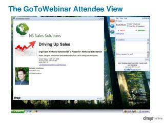 The GoToWebinar Attendee View
