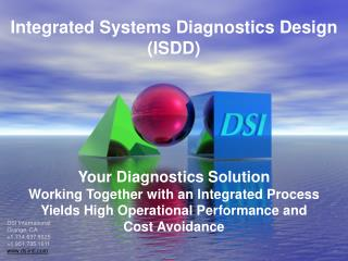 Integrated  Systems Diagnostics Design (ISDD)