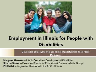 Employment in Illinois for People with Disabilities