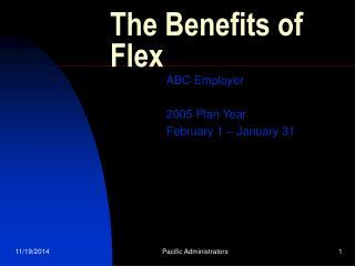 The Benefits of Flex
