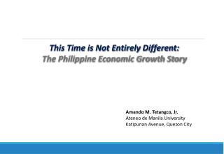 Electricity Sector Reform and Private Participation: Nov 5-6, 2003, Manila