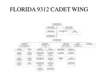 FLORIDA 9312 CADET WING