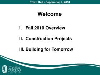 Town Hall • September 9, 2010