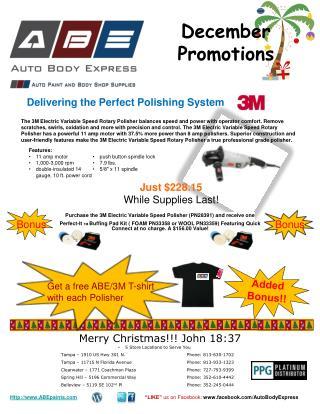 December Promotions