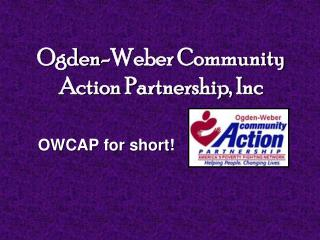 Ogden-Weber Community Action Partnership, Inc