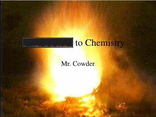 to Chemistry