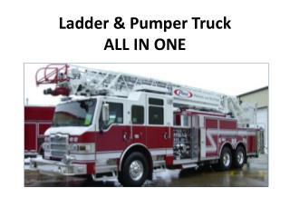 Ladder & Pumper Truck ALL IN ONE