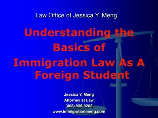 Law Office of Jessica Y. Meng