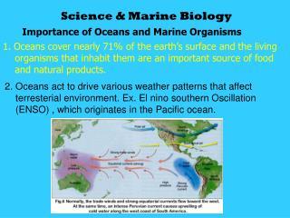 Science & Marine Biology