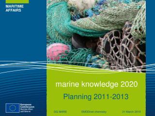 Marine knowledge 2020