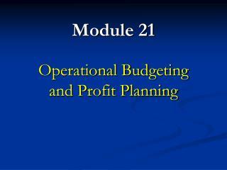 Module 21