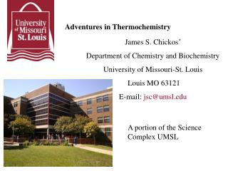 Adventures in Thermochemistry