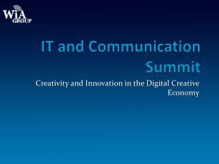 IT and Communication Summit