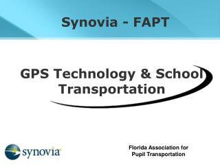 GPS Technology & School Transportation