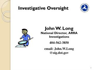 Investigative Oversight