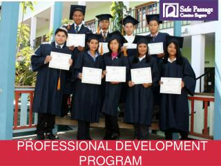 PROFESSIONAL DEVELOPMENT PROGRAM