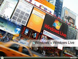 Windows +  Windows  Live
