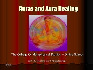 Auras and Aura Healing